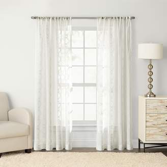 Sonoma Goods For Life SONOMA Goods for Life 1-Panel Astro Embroidered Sheer Window Curtain
