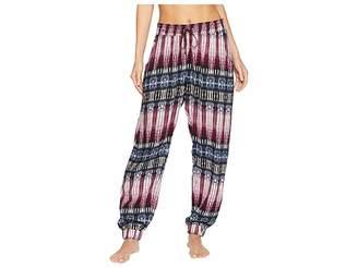 Splendid Night Sky Printed Crop Pajama Pants