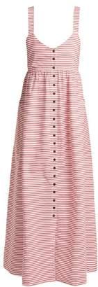Mara Hoffman Orla striped cotton dress