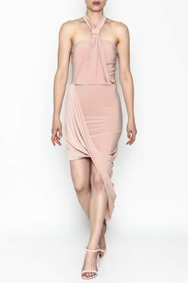 Mystic Halter Neck Dress