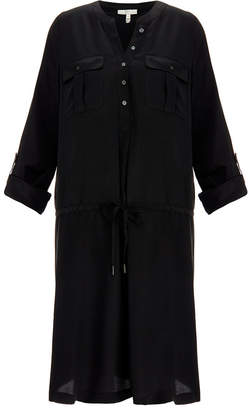 Joie Sovin Caviar Black Silk Dress