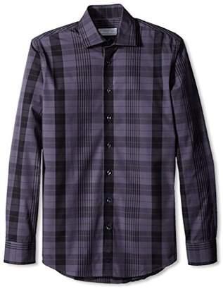 Toscano Firenze Men's Large Check Sportshirt