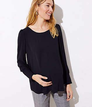 2fa3270ee096e8 LOFT Black Maternity Clothes - ShopStyle
