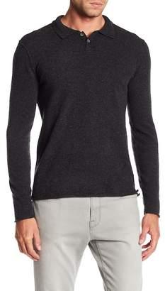Velvet Collared Cashmere Sweater