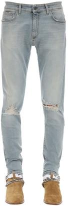 Represent Destroyer Cotton Blend Denim Jeans