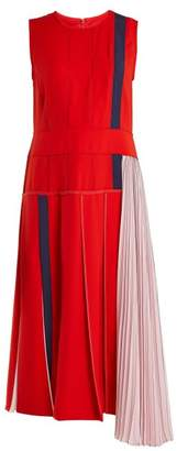 Sportmax Falco Dress - Womens - Red Multi