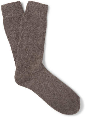 Anderson & Sheppard Wool-Blend Socks