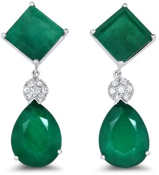 Alberto Green Quartz Earring