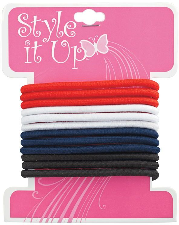 Style It Up Children's Elastic Ponytail Holders