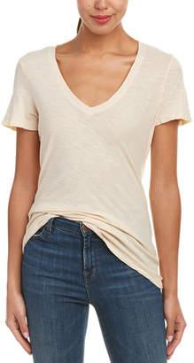 James Perse Reverse Binding Casual T-Shirt