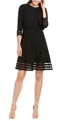 Jessica Howard Petite Illusion Dress & Jacket
