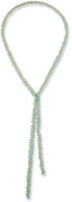 Margo Morrison Chalcedony Cluster Lariat Necklace