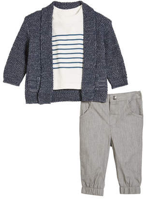 Miniclasix 3-Piece Layette Outfit Set, Size 3-24 Months
