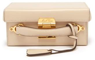 Mark Cross Grace Small Leather Cross Body Bag - Womens - Beige