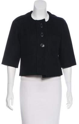 Chloé Short Sleeve Cropped Jacket