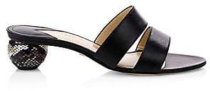 Paul Andrew Women's Pretty Foot Double-Strap Sandals