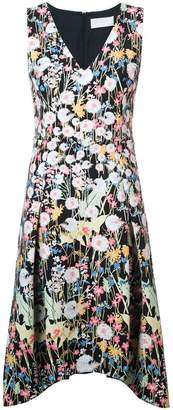 Peter Pilotto dandelion print midi dress