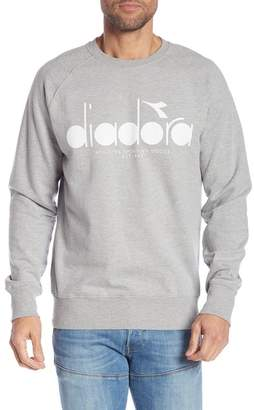 Diadora Graphic Long Sleeve Crew Neck Pullover