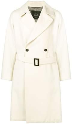 Hevo Brindisi double-breasted coat