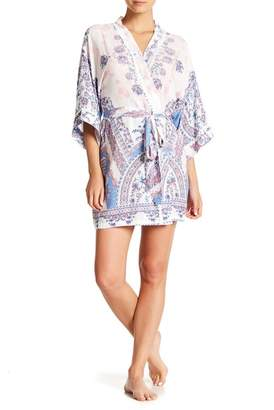 Jonquil In Bloom by Country Blue Wrapper Robe