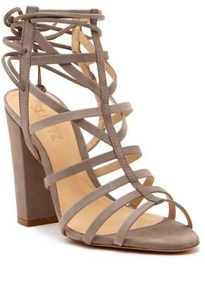 Schutz Loriana Caged Block Heel Sandal