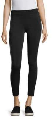 Blanc Noir Side Striped Leggings