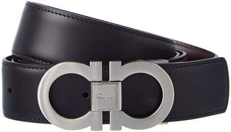 Salvatore Ferragamo Reversible & Adjustable Leather Interchangeable Buckle Belt Gift Box