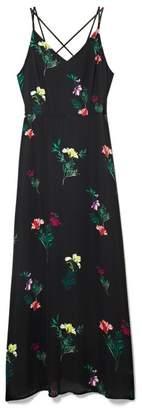 Vince Camuto Garden Floral-print Maxi Dress