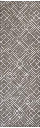 Kas Rugs Impressions Sterling Hand-Tufted Wool Runner