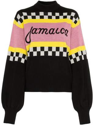 MSGM knitted mohair jumper