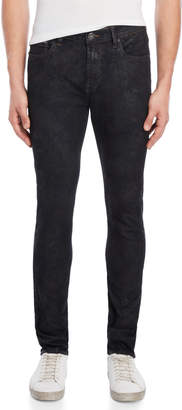 Cult of Individuality Black Ice Punk Super Skinny Jeans