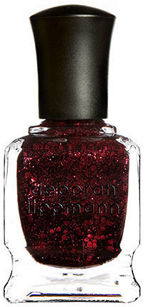 Deborah Lippmann Glitter Nail Color, Ruby Red Slippers 0.5 oz (15 ml)