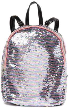 Capelli of New York Reversible Sequin Mini Backpack