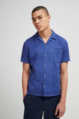 Fcus Overdyed Textured Dobby Shirt