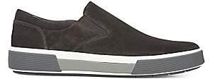 Vince Men's Randell Perforated Suede Slip-on Sneakers