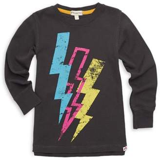 Appaman Baby Boy's, Little Boy's & Boy's Lightning Bolt Graphic Long-Sleeve Tee