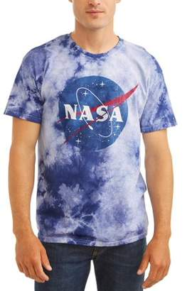 Americana Nasa Men's Short Sleeve Graphic Tee, up to size 2XL