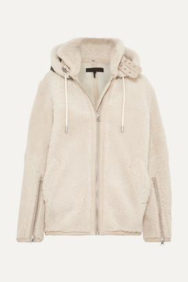Rag & Bone Ashlee Shearling Coat - Cream