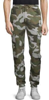 Camouflage Cotton Jogger Pants