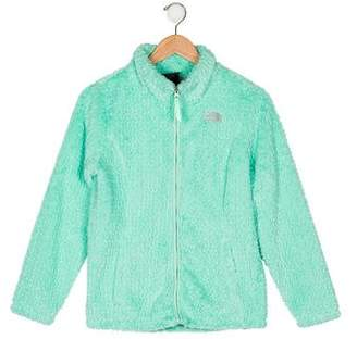 The North Face Girls' Fleece Zip-Up Jacket
