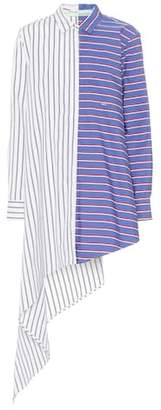 Off-White Striped cotton dress