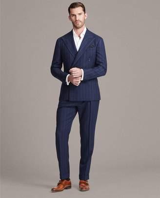 Ralph Lauren Handmade Striped Twill Suit