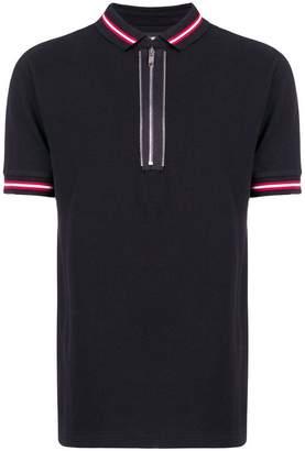 Les Hommes half-zip polo shirt
