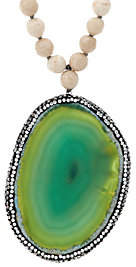 Ellie Madison Choice of Colored Agate GemstoneNecklace