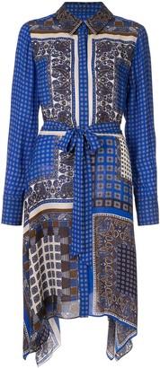Elie Tahari Roxanne paisley-print shirt dress