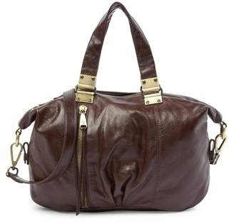 Hobo Derby Leather Satchel