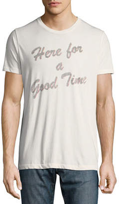 Sol Angeles Men's Here for a Good Time Graphic T-Shirt