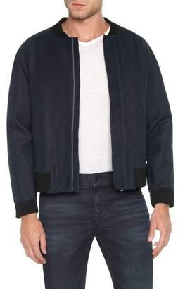 Joe's Jeans Raglan Twill Bomber Jacket
