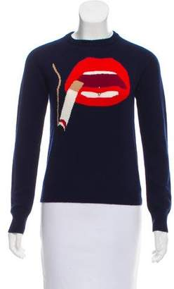 Beau Souci Smoke Intarsia Sweater w/ Tags