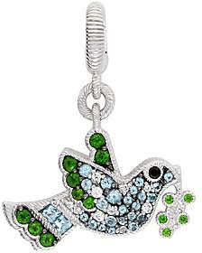 Judith Ripka Sterling Silver Multi-Gemstone Bir
